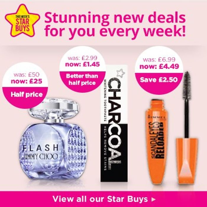 3 for 2 on Selected Superdrug My Little Star