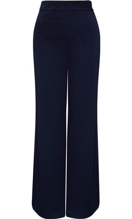 Wide Split Leg Trousers