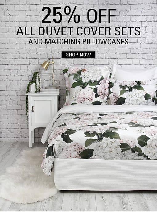 25% off Duvet Cover Sets