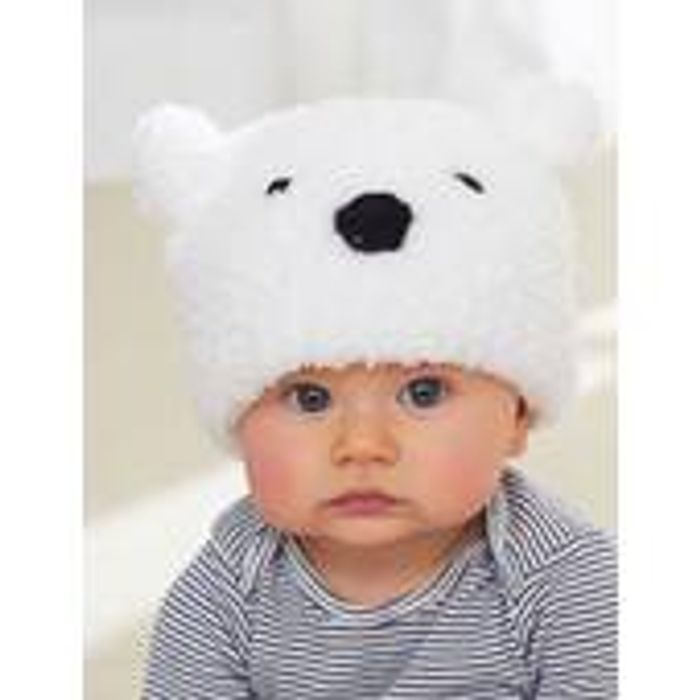 Free Knitting Pattern for a Bernat Polar Bear Hat | LatestDeals co uk