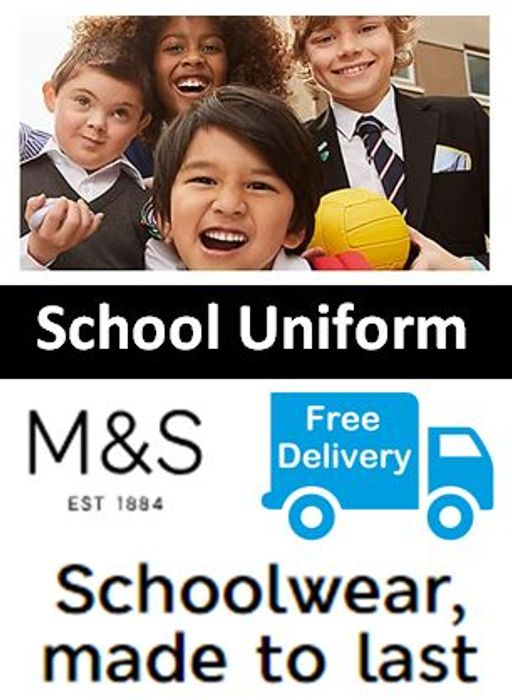 M&S School Uniform - FREE DELIVERY OFFER