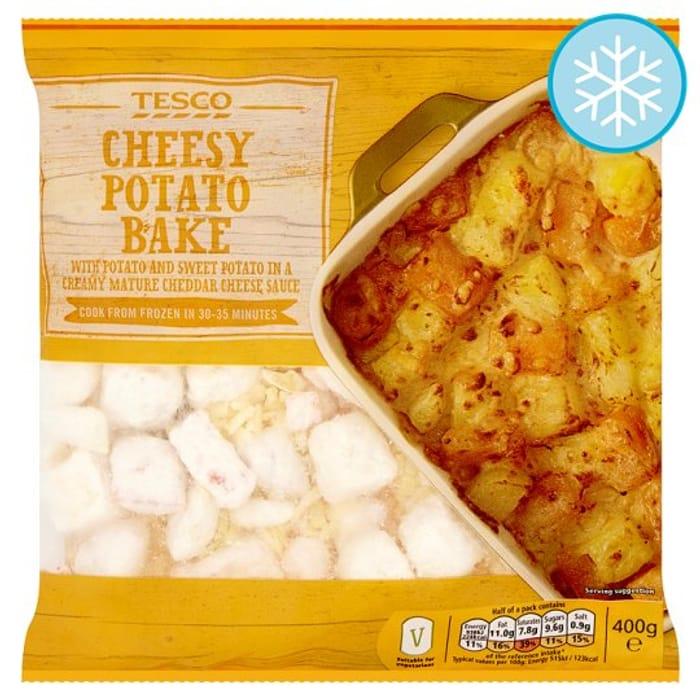 Tesco Cheesy Potato Bake 400g 070 Latestdealscouk