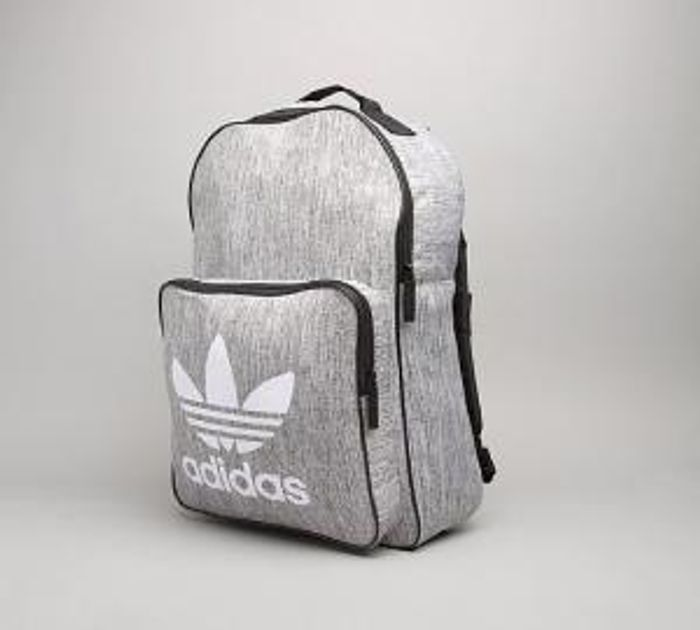 0f48f0abf Adidas Originals Classic Trefoil Backpack | Grey Only £17.99 at ...