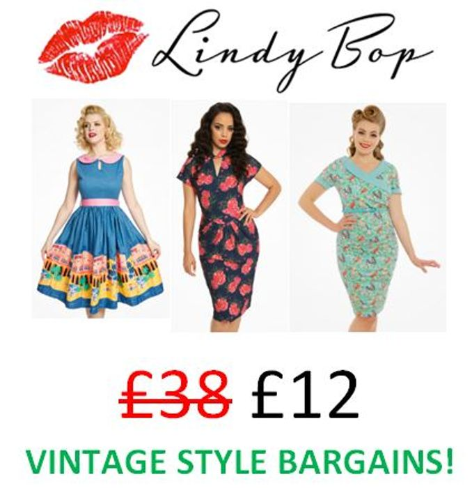 Love Vintage Style? Fab Prices Now at Lindy Bop!!