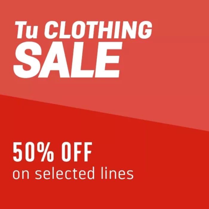 TU Sale 50% OFF