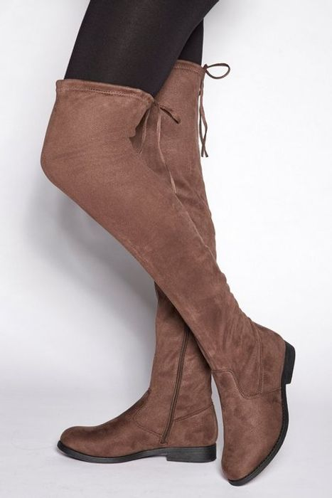 Over the Knee Pull on Boot