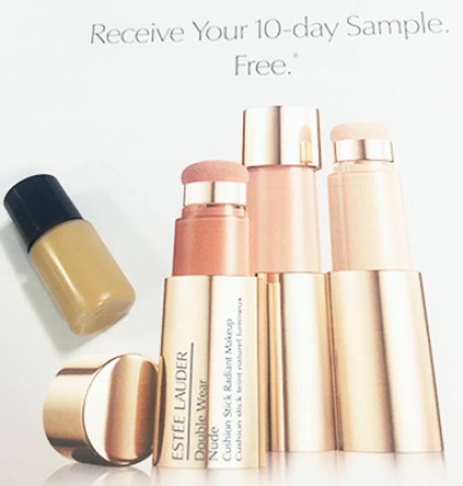 Free 10 Sample Estee Lauder Double Wear Nude Cushion Sitck Radiant