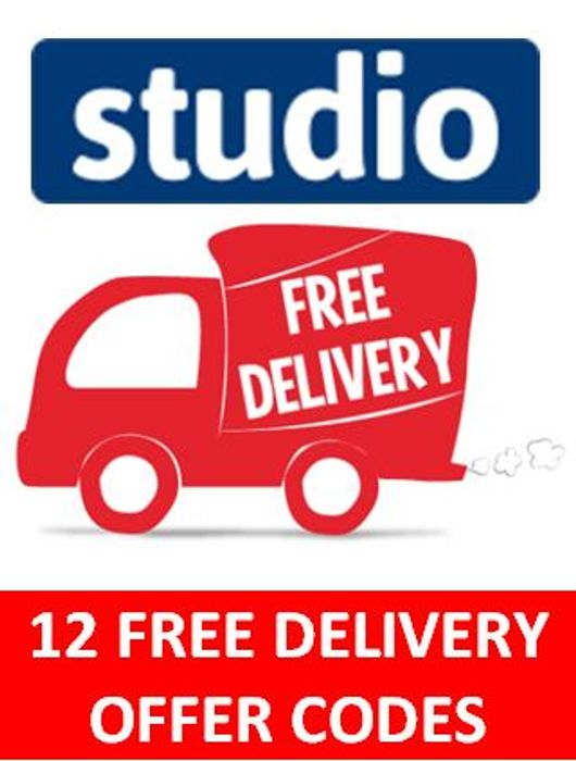 12 STUDIO Free Delivery Offer Voucher Codes