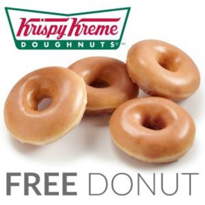 Free Box/Boxes of Krispy Kreme Doughnuts