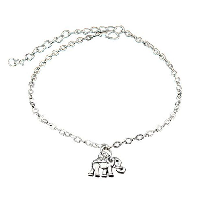 Elephant Ankle Bracelet