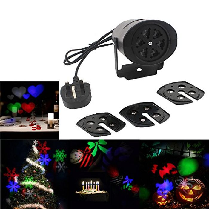 50% off Christmas Light Projector (Only £4.94)