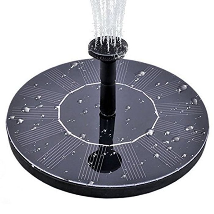 Extra 50% off MINGER Solar Fountain Pump, Garden Solar Water Pump