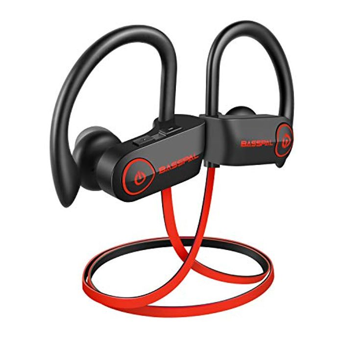 50% off - Bluetooth Sport Headphones with 9 Hrs Battery