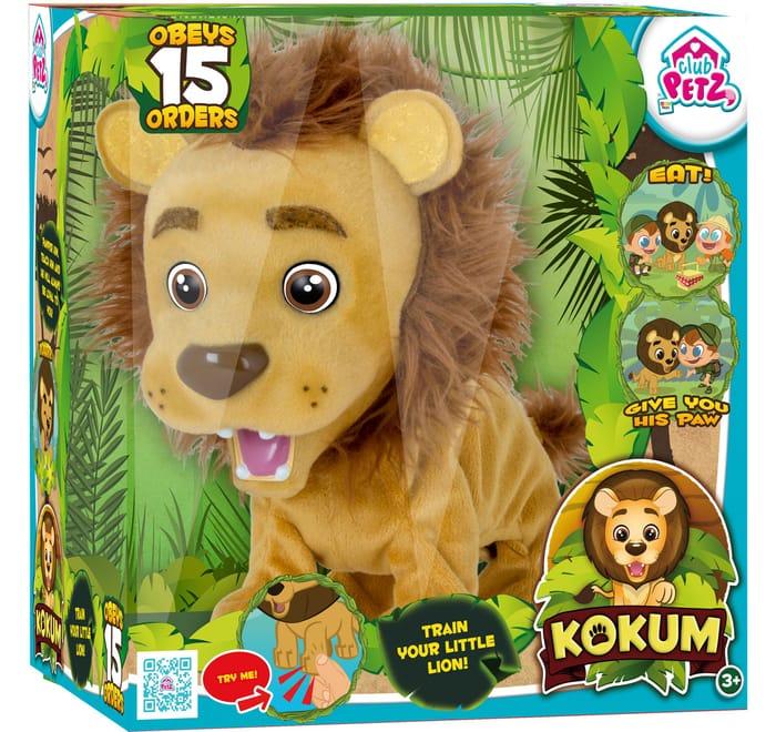 Club Pets Kokum the Lion Interactive Toy