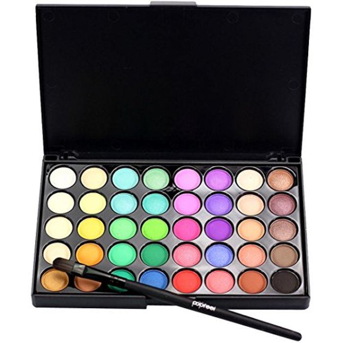 Eyeshadow Palette, Bestow Cosmetic Matte Eyeshadow 40 Color