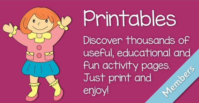 Printable Activities for Children