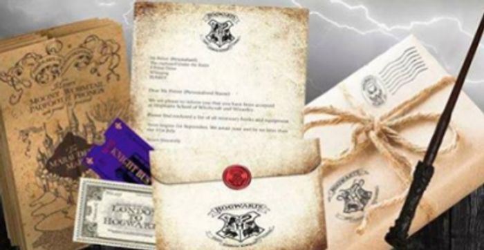 Free Harry Potter Acceptance Package (Just Pay P&P)