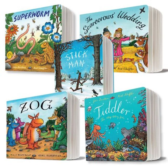 5 Pack Julia Donaldson Board Books