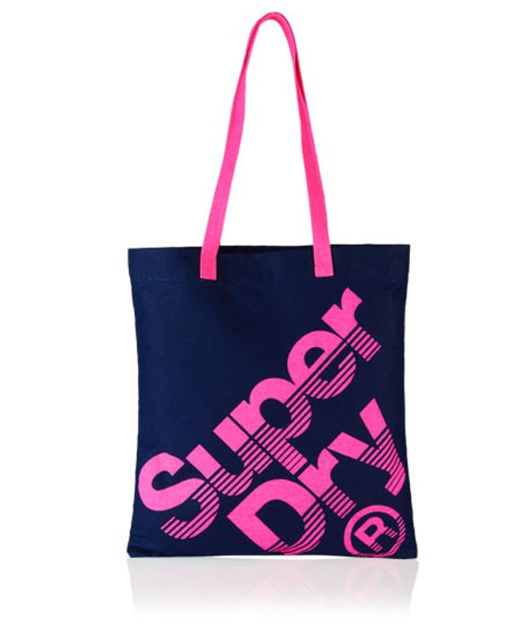 Superdry Ladies Calico Tote Bag