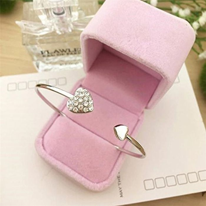 Heart Cuff Bracelet - Free Delivery