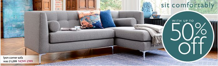 Dwell Up to 50% off Sofas Sale