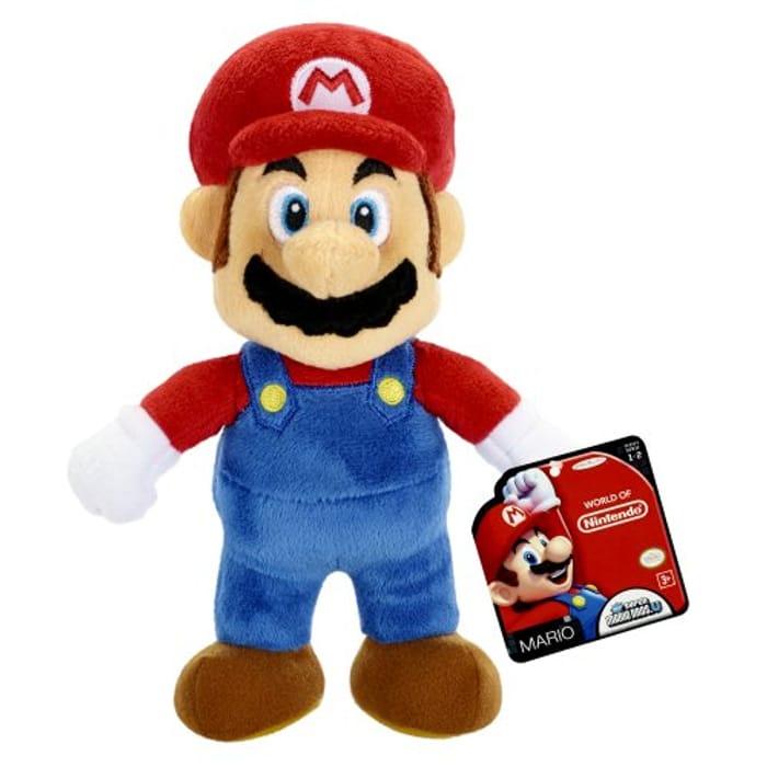 Nintendo World of Mario Plush Toy