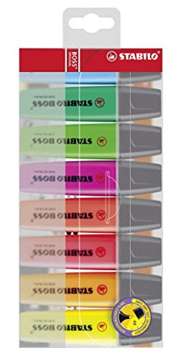 8 Stabilo Boss Highlighters, Add on Item