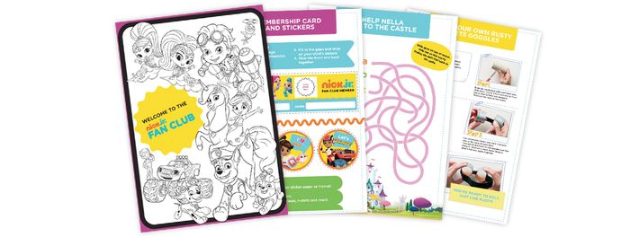 Nick Jr. Kids Activity Pack