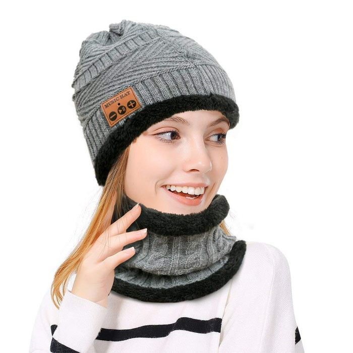 50% off Hebey MZ026 Bluetooth Beanie Music Hat Wireless Snowproof Headset