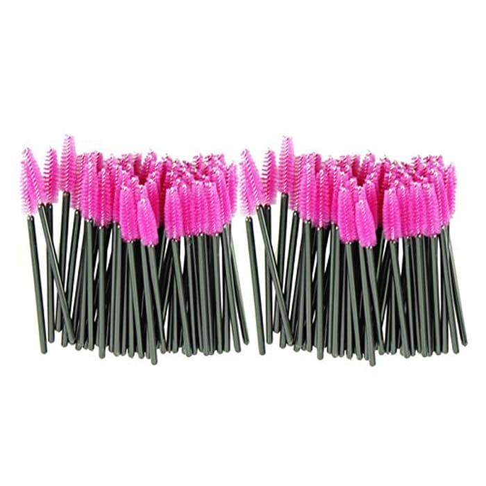 100pcs/lot One-off Disposable Eyelash Brush Mascara Applicator