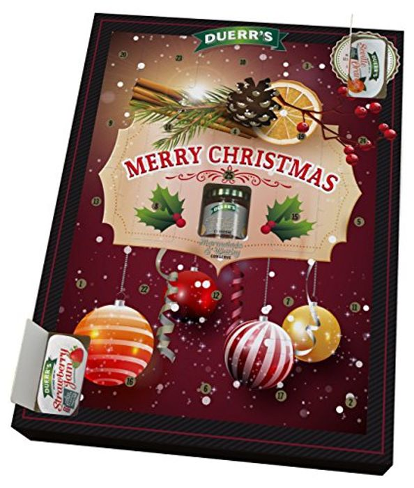 """Official Duerr's Jam & Marmalade Individual Portions Advent Calendar """"""""ADD ON"""""""""""