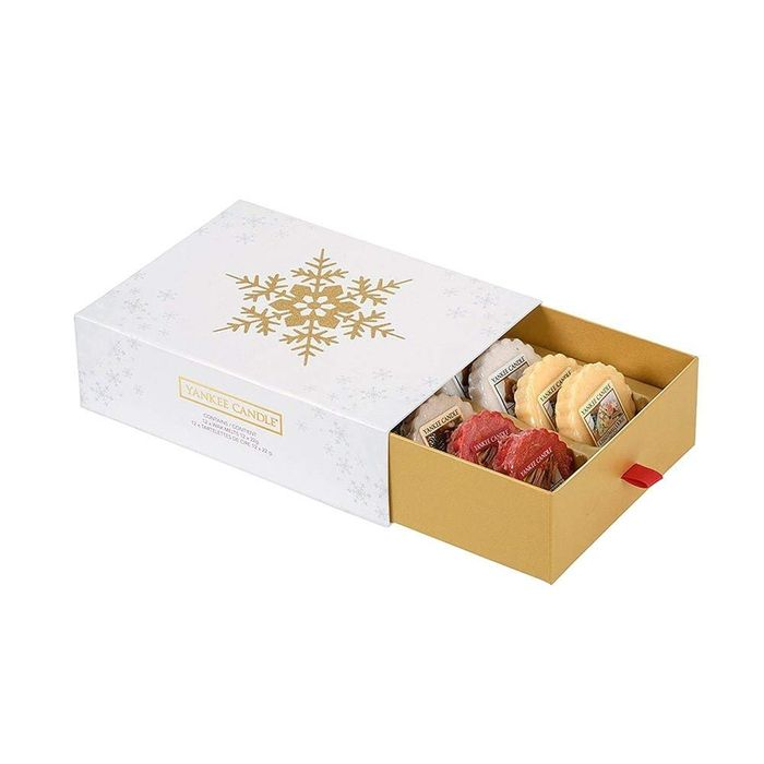 Yankee Candle the Perfect Christmas 12 Melt Giftset, White