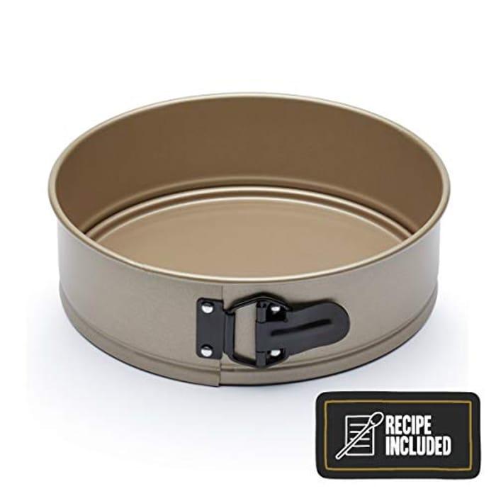 Paul Hollywood Non-Stick Springform Cake Tin with Loose Base, 23 Cm