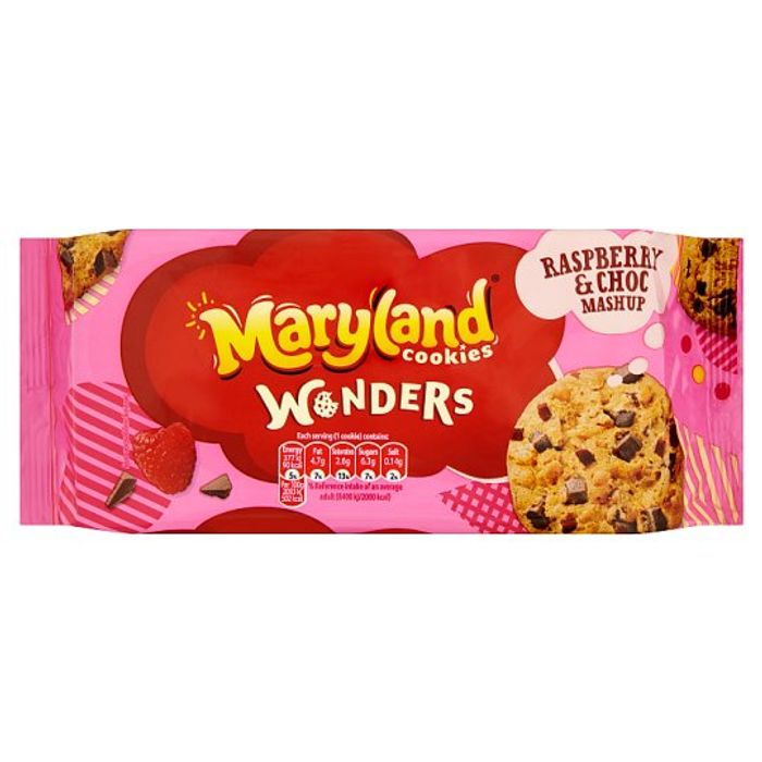 Maryland Wonders Raspberry Cookies 144G