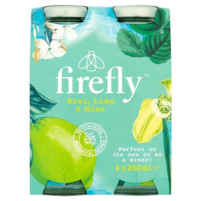 Firefly Kiwi Lime Mint 4 X 250Ml