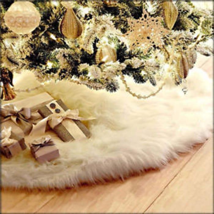 Christmas Soft Plush Tree Skirt