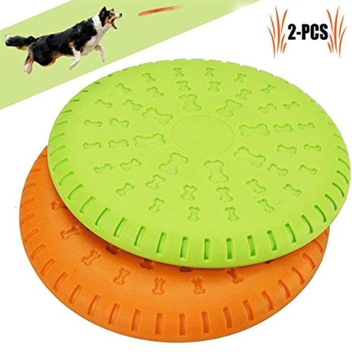 Big Reduction on Dog Flying Disc