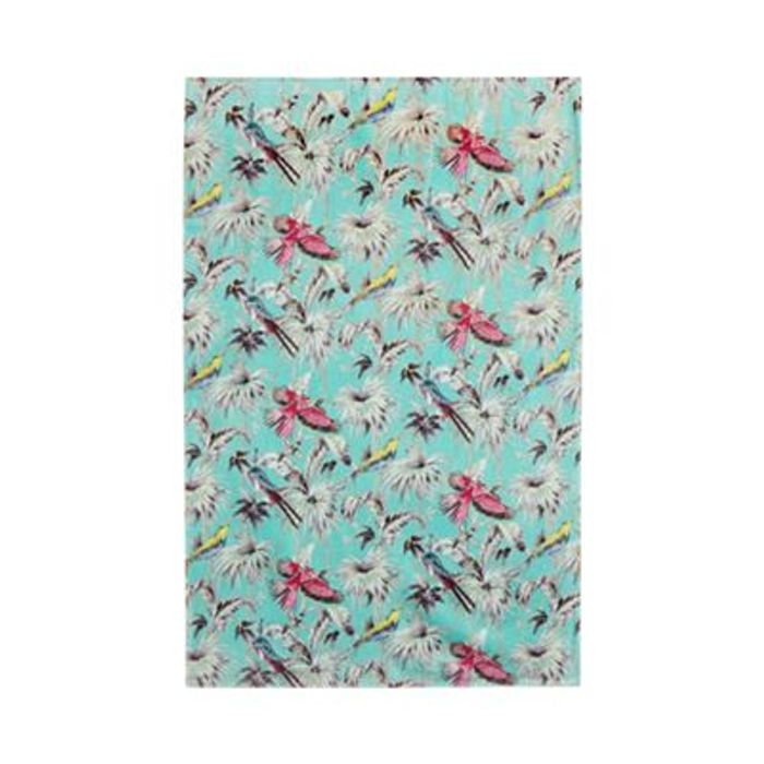 Butterfly Home Tropical Print Towel