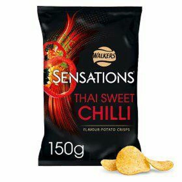 Walkers Sensations Thai Sweet Chilli Crisps