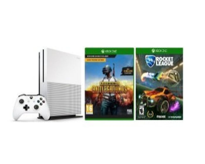 Xbox One S 1TB with Rocket League + PUBG Only £249.94