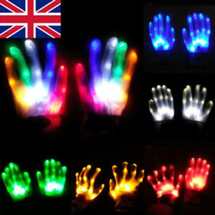 LED Light FlashingGloves