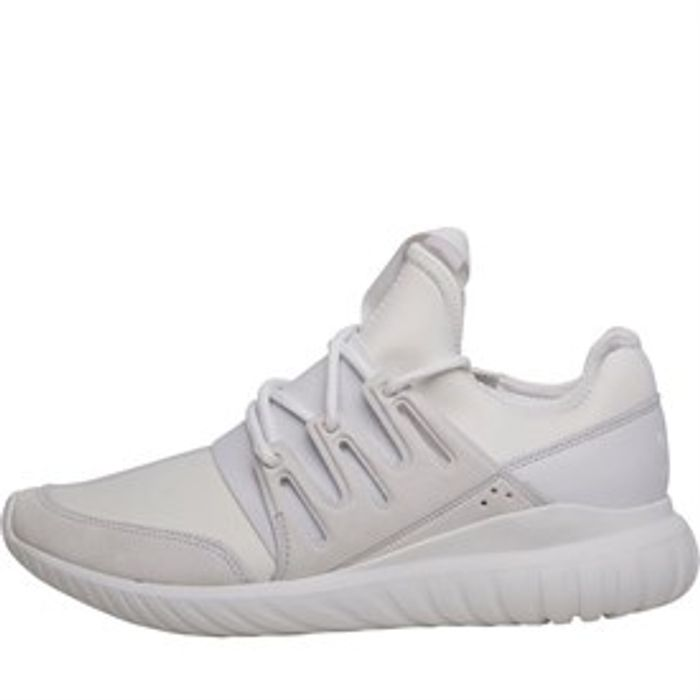 Adidas Originals Tubular Radial Trainers Crystal White