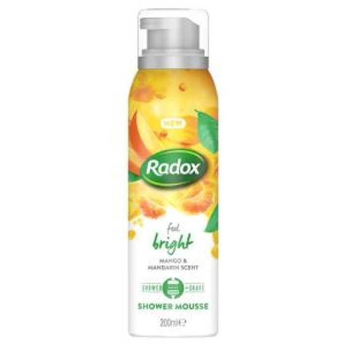 New Radox Feel Shower Mousse Only £1.50