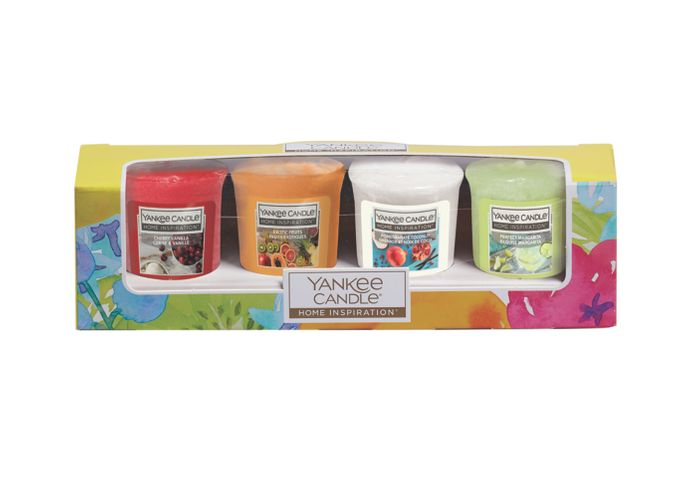 Yankee Candle Votive Gift Set 4-Pack