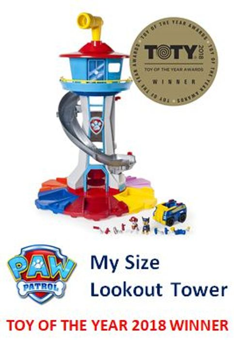 Paw Patrol My Size Lookout Tower - TOY OF THE YEAR 2018 WINNER