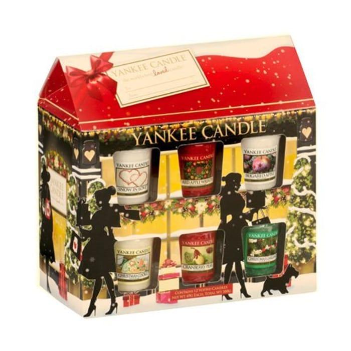 Yankee Candle 12 Votive Festive House