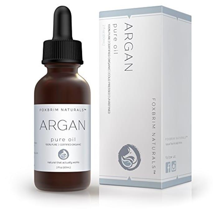 Pure 100% Organic Argan Oil for Hair, Skin & Nails