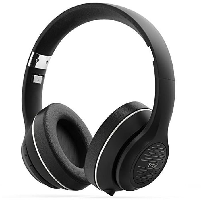 Bluetooth Headphones, HiFi Wireless Headphones with Rich Bass, 24 Hours Playtime