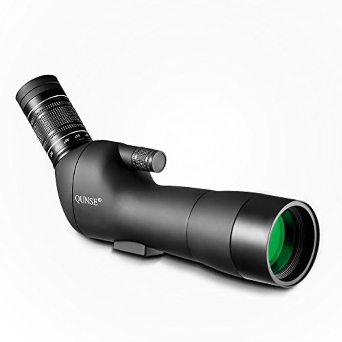 QUNSE Spotting Scope 20-60X60 Zoom
