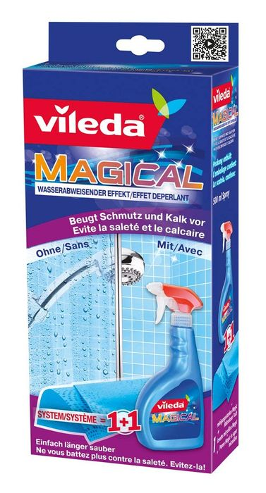 Vileda Magical Dirt Prevention System with Cloth and Spray,500 Ml at Lidl - £2.99